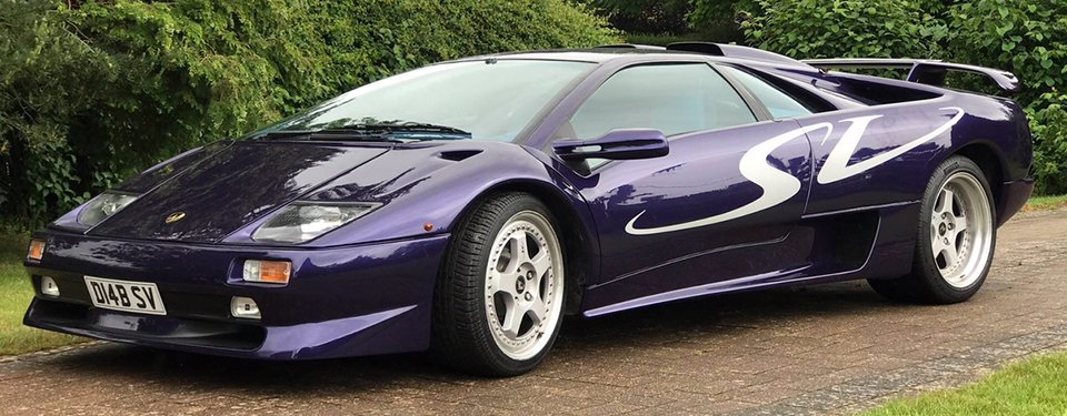 Lamborghini Diablo SV wedding car